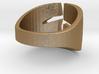 Linda's ring 3d printed