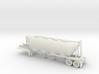 HO 1/87 Dry Bulk Trailer 02 (bigger tank) 3d printed