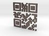 Wien Vienna 3D QR Code 3d printed