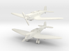 Heinkel He 70E Blitz set 1/285 6mm 3d printed