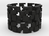 Borg Cube Ring Size 13 3d printed