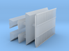 1/700 Shipping Container Stack of 3 3d printed