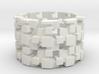 Tilt Cubes Ring Size 9 3d printed
