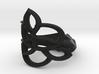 Celtic Flower Ring 3d printed