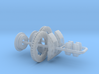 1/16 Modern 11.6 Inch Diam 6 Piston Disk Brake Set 3d printed
