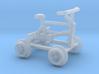 z Gauge 1:220 Fahrrad Draisine  3d printed