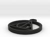 HP pendant 3d printed