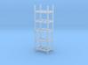 Steel Storage Racks 1/87(HO Scale) - 5 High 3d printed