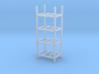 Steel Storage Racks 1/87(HO Scale) - 4 High 3d printed