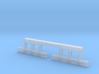 HO Scale Streetcar Safety FENDERS 1pr 3d printed