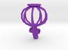 3D Printed Poppy Pendant 3d printed
