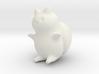 "Catbug - 4"" tall 3d printed"