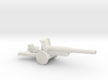 WW2 Cannon (Medium size) 3d printed