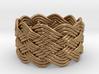 Turk's Head Knot Ring 6 Part X 10 Bight - Size 10 3d printed