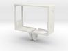 GoPro Hero 3 Frame - Linse Oben Rechts 3d printed