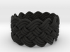 Turk's Head Knot Ring 5 Part X 13 Bight - Size 6.5 3d printed