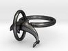 Dolplin Ring(US Size9) 3d printed