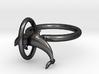 Dolplin Ring (US Size12) 3d printed