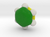 Lowest energy occupied pi-MO of benzene 3d printed