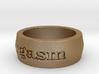 Men's Orgasm Ring Size 8.5 3d printed