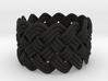 Turk's Head Knot Ring 5 Part X 13 Bight - Size 7 3d printed