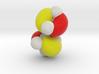Highest occupied pi-MO (HOMO) of cis-Butadiene 3d printed