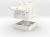 Turbolaser Short Turret Rotating 1/270 3d printed