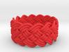 Turk's Head Knot Ring 5 Part X 14 Bight - Size 8.2 3d printed