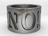 No! No! No! Ring Size 8.5 3d printed