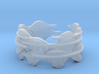 Flying Rods, Skyfish Large Ring Size 12 3d printed