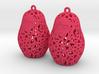 Matryoshka Earrings 3d printed