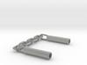 Nunchaku Pen Cap(two linked fighting sticks) 3d printed
