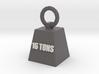 16t Key Ring 3d printed
