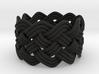 Turk's Head Knot Ring 5 Part X 10 Bight - Size 7 3d printed