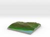 Terrafab generated model Sun Sep 29 2013 00:13:41  3d printed