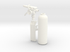 1:7 Scale 33mm Bottle Extinguisher 3d printed