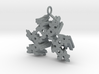 SuperFractal Reverse Pendant 3d printed