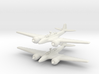 Kawasaki Ki-102 Randy (Pair) 1/285 6mm 3d printed