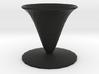 fleur vase 3d printed