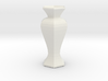 the teseract vase 3d printed