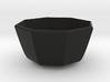 medium bowl 3d printed