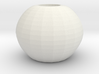 ball vase 3d printed