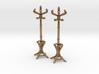 Pair of 1:48 Metal Hatstands 3d printed