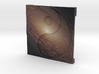 Spiral Galaxy over Ying Yang 3d printed