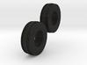 1:64 11L-15 3 Rib Tractor Tires 3d printed