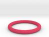 Pink ring 3d printed