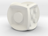 .die inverse balanced rounded edges 3d printed