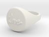 ring -- Sat, 26 Oct 2013 21:49:22 +0200 3d printed