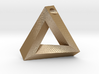 Penrose Triangle - Pendant (3.5cm | 3.5mm hole) 3d printed