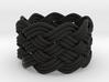 Turk's Head Knot Ring 6 Part X 9 Bight - Size 6.75 3d printed